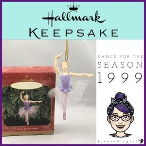 🍓Hallmark Ballerina Dance Ornament